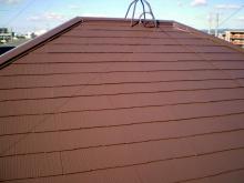 福岡県糟屋郡粕屋町T様邸 屋根塗装施工事例