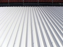 福岡市東区アパート 屋根塗装施工事例