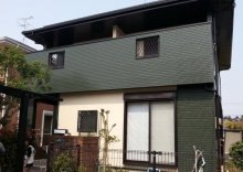 福岡市N様邸の外壁塗装施工事例