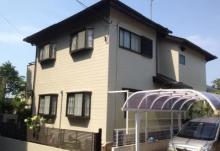 福岡市東区F様邸の外壁塗装施工事例