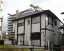 福岡市東区Y様邸外壁塗装施工工事例