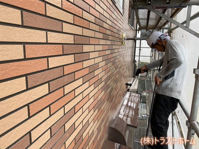 H邸外壁洗浄