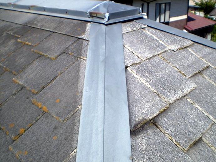 福岡市西区H様邸 屋根塗装施工事例の施工前画像