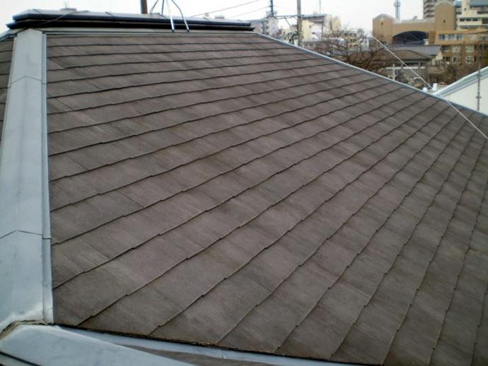 福岡市南区U様邸 屋根塗装施工事例の施工前画像
