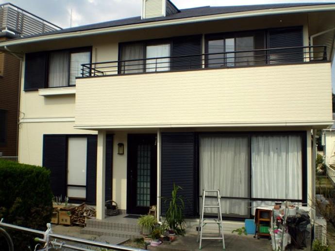 福岡市西区Y様邸 外壁塗装施工事例の施工後画像