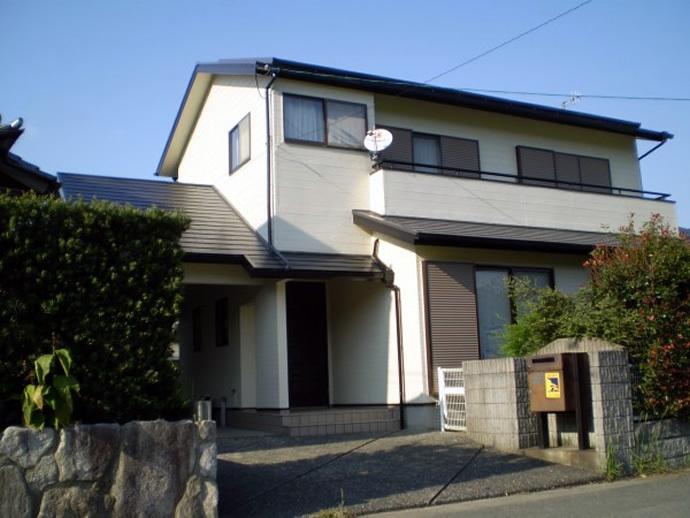 福岡県糸島市N様邸 外壁塗装施工事例の施工後画像
