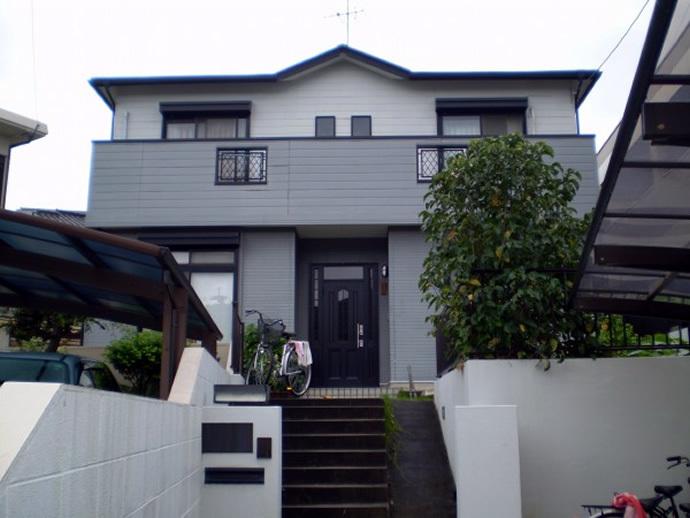 福岡市城南区H様邸 屋根塗装施工事例の施工前画像