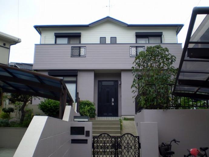 福岡市城南区H様邸 屋根塗装施工事例の施工後画像