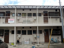 福岡県飯塚市のアパート築35年経過劣化が目立ち外壁塗装施工の画像