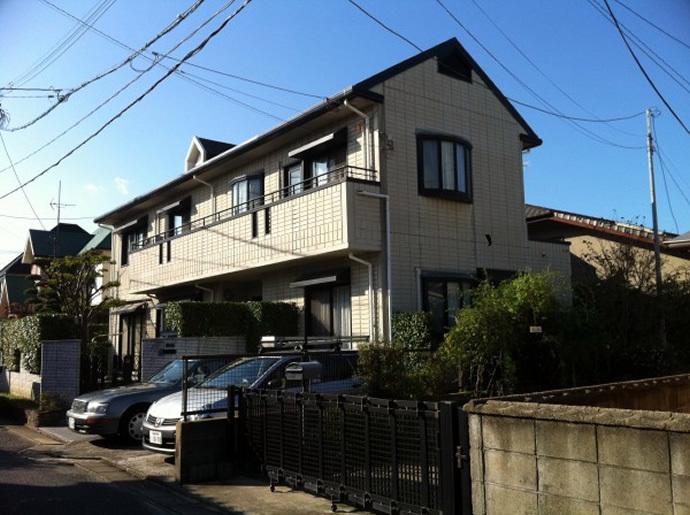 福岡市城南区K様邸 外壁塗装施工事例の施工前画像