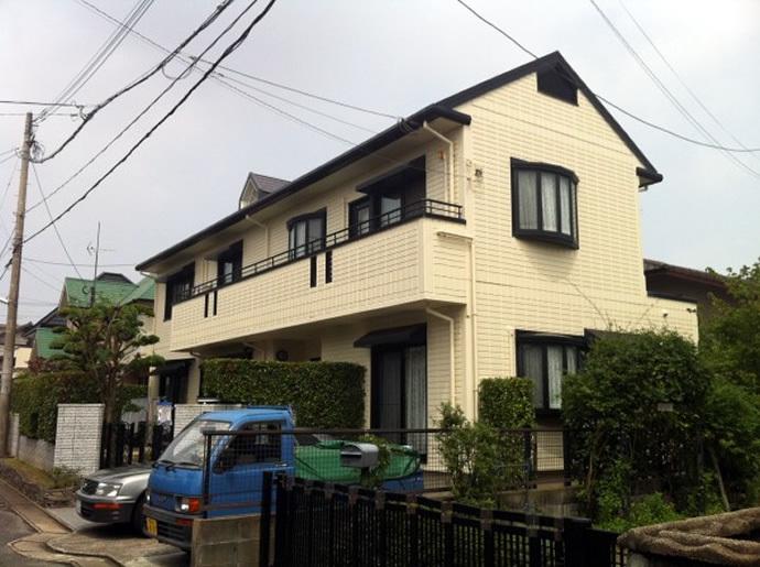 福岡市城南区K様邸 外壁塗装施工事例の施工後画像