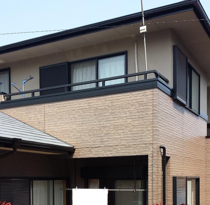 福岡市A様の外壁塗装施工事例の施工後画像