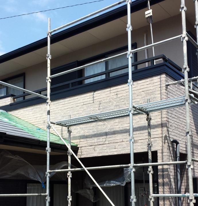 福岡市A様の外壁塗装施工事例の施工前画像