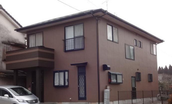 福岡市U様邸の外壁塗装・屋根塗装の施工事例の施工後画像