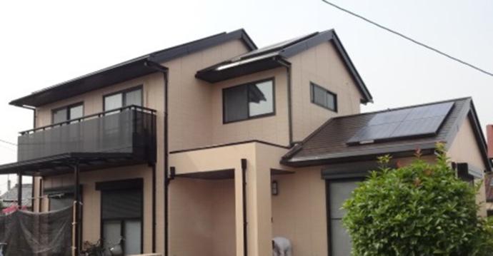 福岡市E様の外壁塗装施工事例の施工後画像