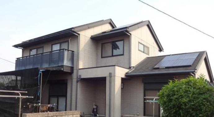 福岡市E様の外壁塗装施工事例の施工前画像
