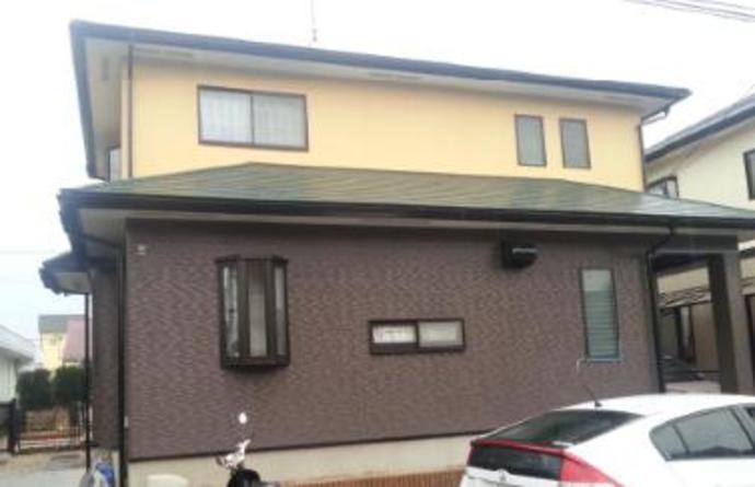 福岡市F様邸の外壁塗装施工事例の施工後画像