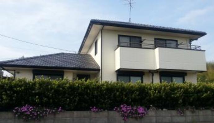 福岡市築15年ほどの戸建て住宅初めての外壁塗装を施工の施工後画像
