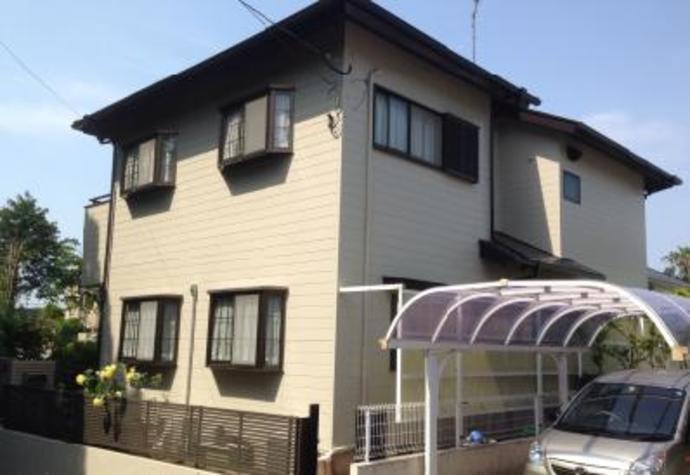 福岡市東区F様邸の外壁塗装施工事例の施工後画像