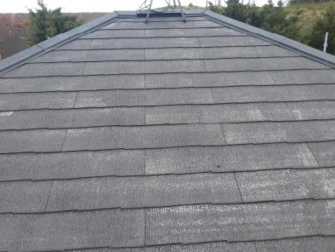 福岡県那珂川町F様邸の屋根塗装施工事例の施工前画像