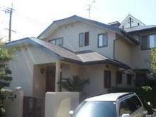 福岡市W様邸の外壁塗装施工事例の画像