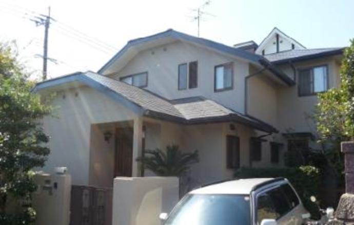 福岡市W様邸の外壁塗装施工事例の施工後画像