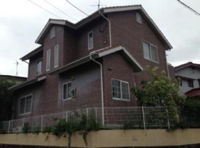 福岡市Y様邸の外壁塗装施工事例の施工前画像