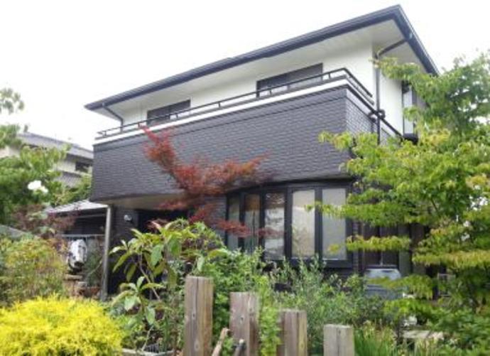 福岡市N様邸の外壁塗装施工事例の施工後画像