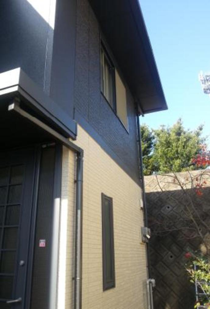 福岡県那珂川町F様邸の外壁塗装施工事例の施工後画像