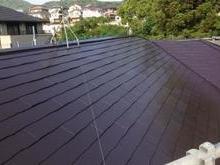 福岡市東区F様邸屋根塗装施工事例の画像