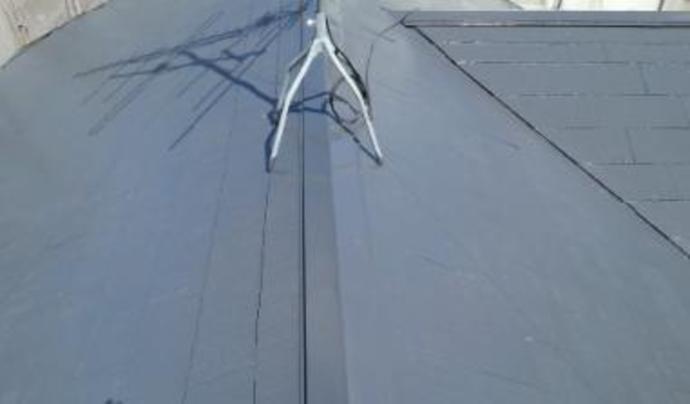 福岡市W様邸の屋根塗装施工事例の施工後画像