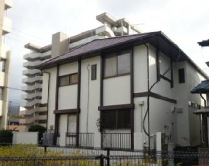 福岡市東区Y様邸外壁塗装施工工事例の施工後画像
