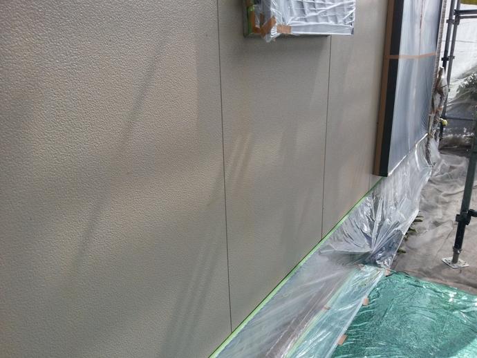 大野城市外壁の雨だれ汚れ悩み築15年一戸建て初めての外壁塗装の施工前画像