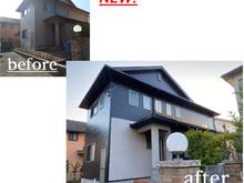 福岡市東区築14年の一戸建て住宅塗装(屋根・外壁)の画像