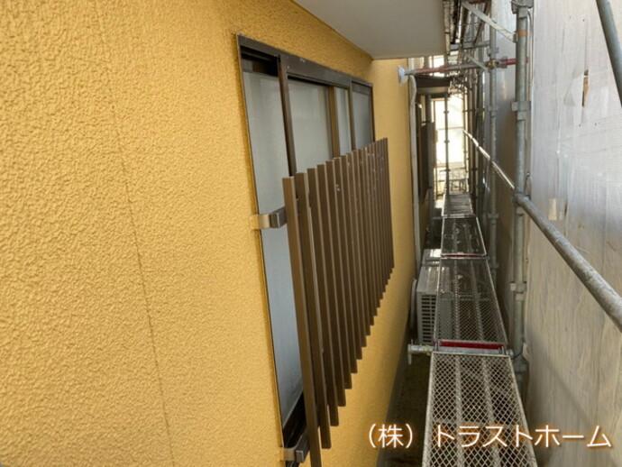 古賀市で外壁塗装を施工していただいたお客様の声の施工前画像