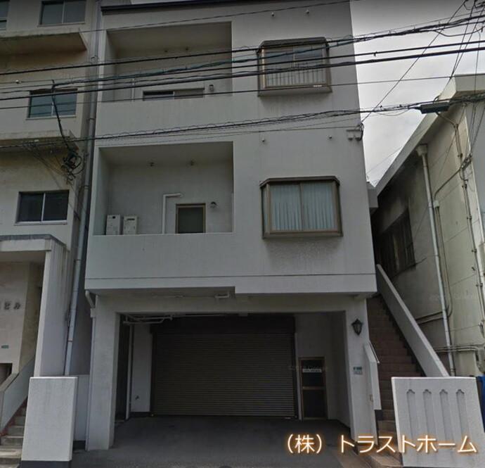 北九州戸畑区でオフィスの外壁塗装をご依頼いただきました。の施工前画像
