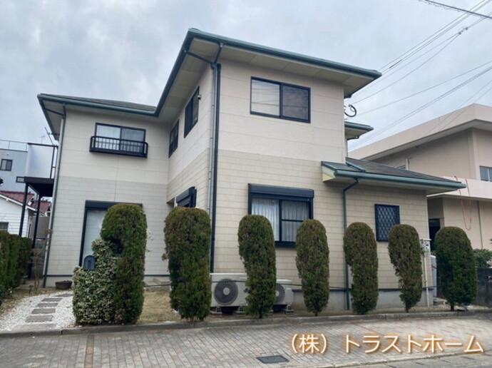 福岡市東区で一軒家の塗装を行いました!【外壁編】の施工前画像