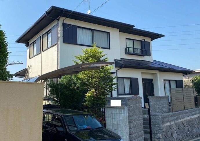 福岡市東区戸建ての外壁・屋根塗装の施工事例をご紹介します☆の施工後画像